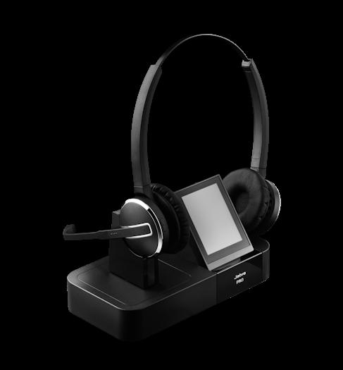 Wireless Headsets Gn Jabra Pro 920 Dect Wireless Headset: Jabra PRO 9400 Series Wireless Headsets