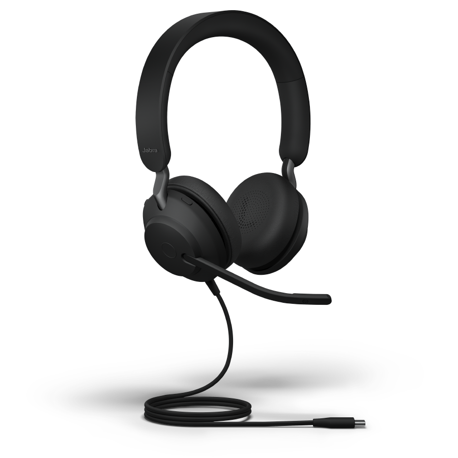 Jabra Evolve2 40 Engineered To Keep You On Task Exceptional Audio Outstanding Noise Isolation Superior Comfort