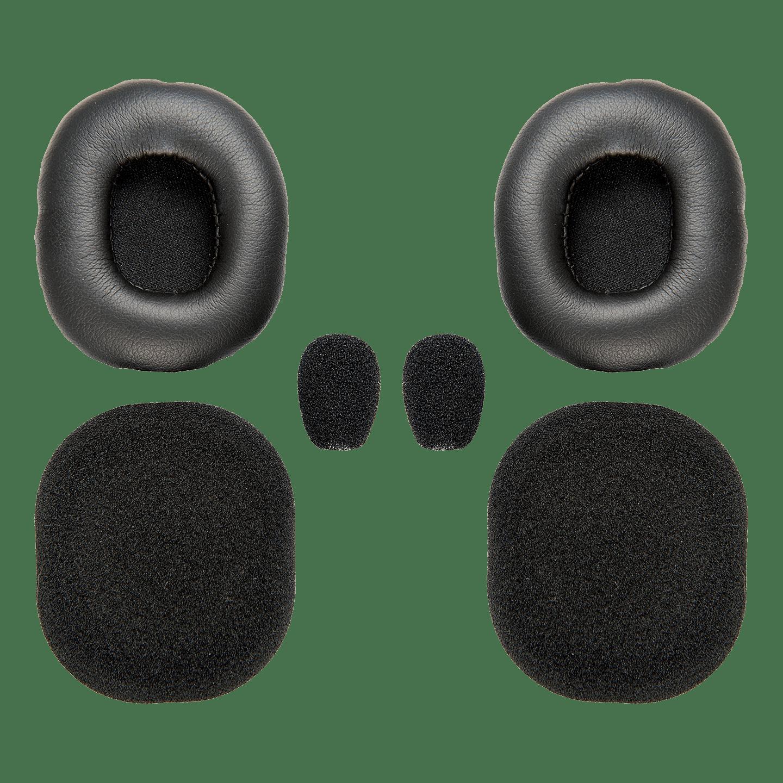 Blue Parrot B350XT VXI Foam Kit Headset Cushions Ear Pads Mic B350 Parrott 6pc