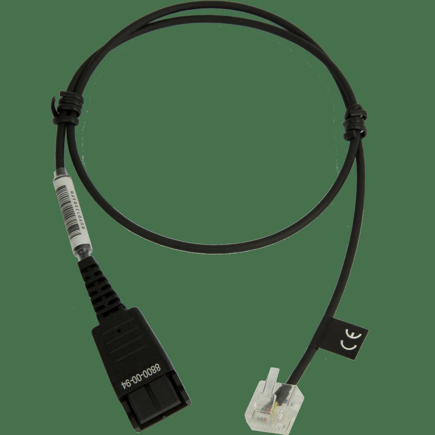 Jabra 8800-01-94 Cable para Siemens