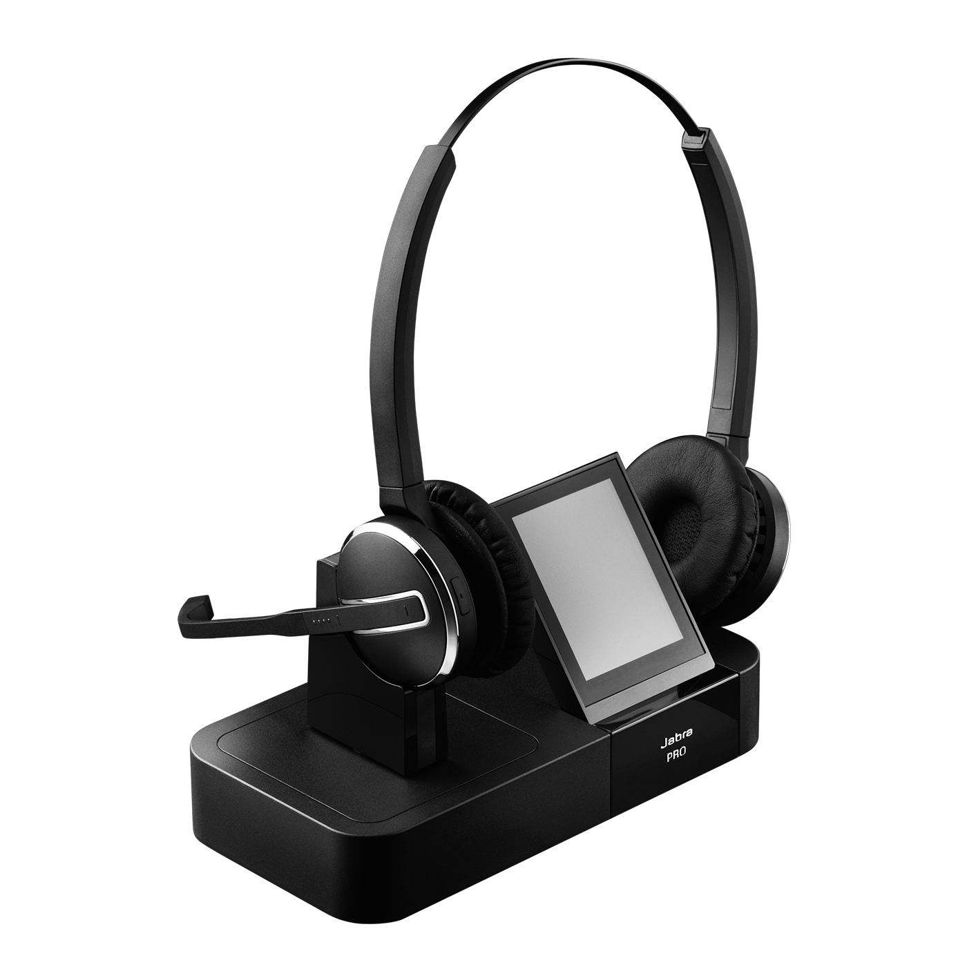 Jabra Pro GO 6470 Bluetooth headset with phone dock