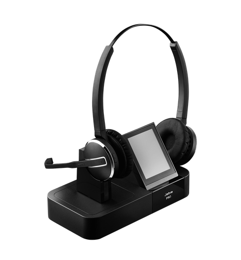 micro casque sans fil pour t l phone fixe softphone jabra pro 9400. Black Bedroom Furniture Sets. Home Design Ideas