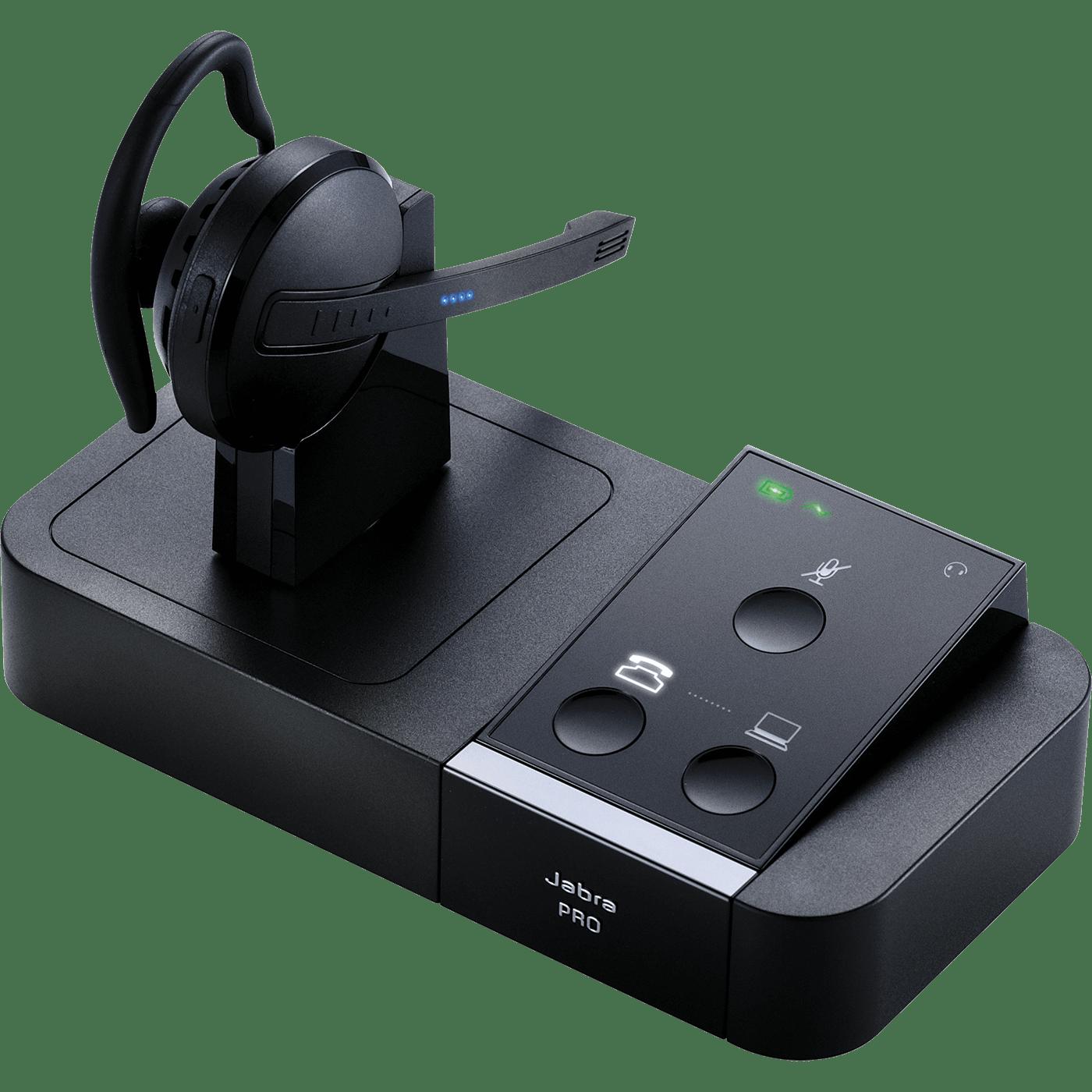 Jabra PRO 9450 Flex Headset 9450-65-507-105 Convertible DECT 6.0 Wireless